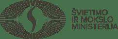 Švietimo ir Mokslo Ministerija logotipas